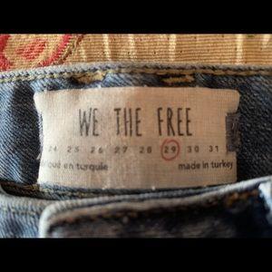 Free People Jeans- Size 29